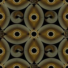 Modern Gold Textured 3d Greek ...