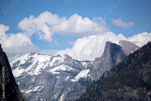 Poster  Storm Clouds Over Halfdome