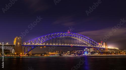 City on the water Sydney Vivid Festival