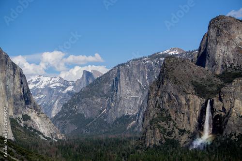 Canvastavla  Yosemite Valley 2