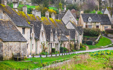 Cotswold Stone Cottages In Bib...