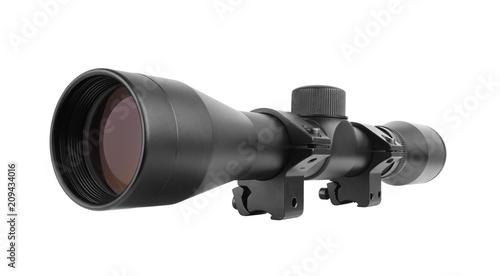 Fotografía  Sniper scope on white background