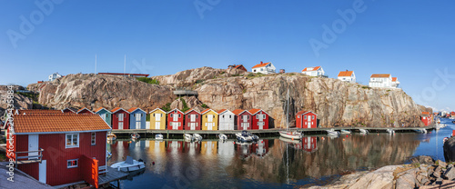 Photo Bootshäuser in Schweden