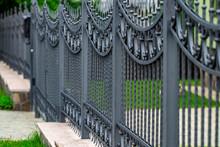 Wrought-iron Gates, Ornamental...