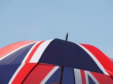 Flag Of The United Kingdom (UK) Aka Union Jack Umbrella
