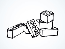 Lego. Vector Drawing
