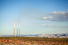Smokestacks In Arizona