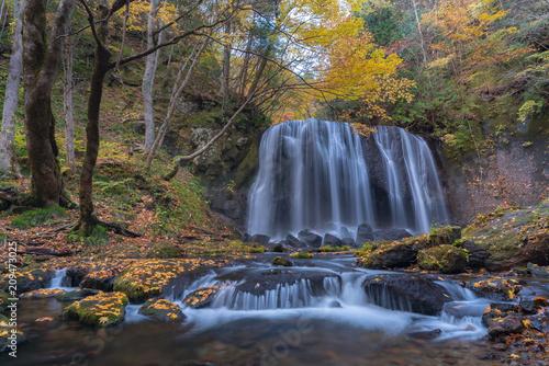 Foto op Canvas Asia land Tatsuzawafudo Waterfall Fukushima