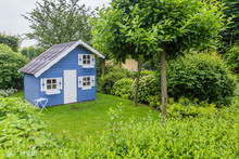 Cozy Little Blue Playhouse In ...