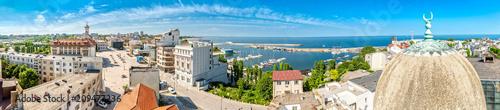 Fotografía Aerial panorama of the old town in Constanta, Romania