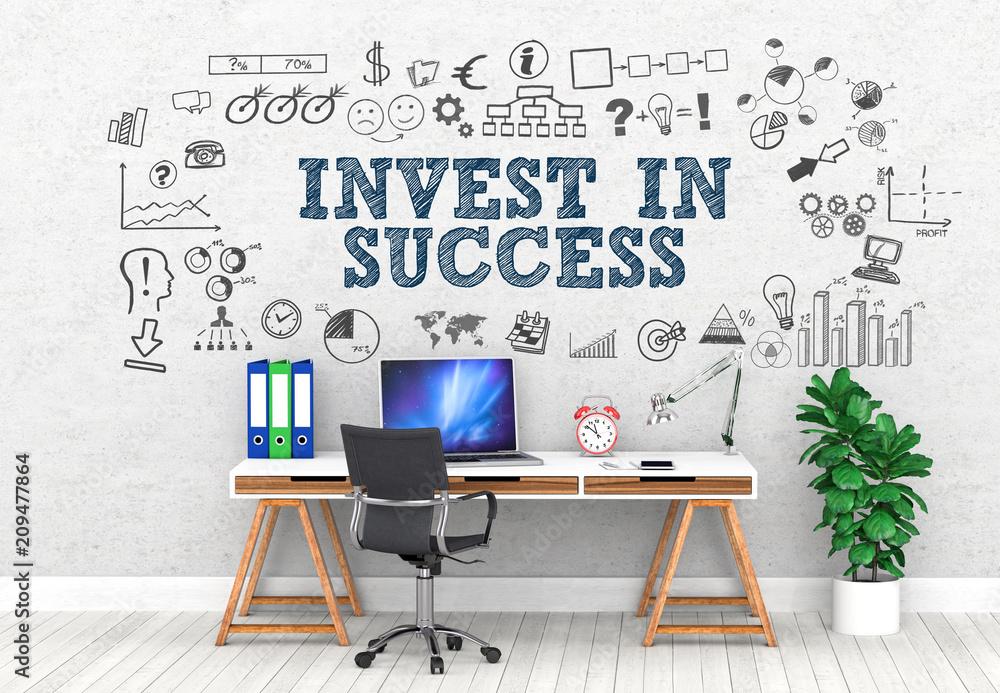 Fototapeta Invest in Success