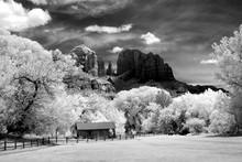 Infrared Sedona Arizona Cathed...