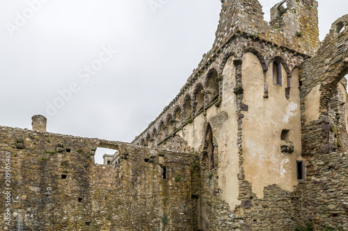 View of St Davids cathedral in Wales Wallpaper Mural