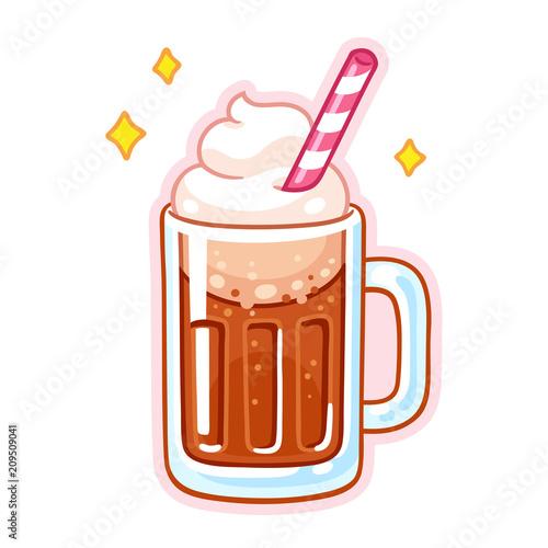 Cuadros en Lienzo  Root beer float