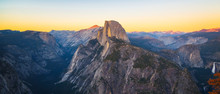 Panoramic View Of Half Dome Fr...