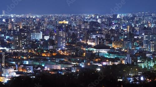In de dag Aziatische Plekken 日本新三大夜景の札幌