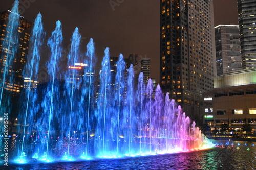 Staande foto Kuala Lumpur マレーシアクアラルンプールの街並み