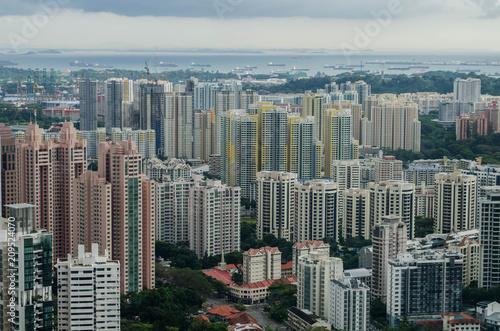 Plakat Singapur