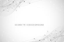 Geometric Graphic Background M...