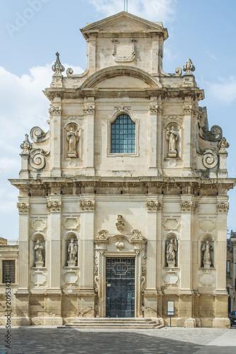 Fotobehang Fontaine Salento, Lecce