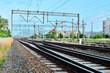 Tory kolejowe i infrastruktura transportowa.