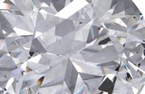 Fototapeta Kamienie - Realistic diamond texture close up, 3D render