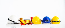 Safety Helmet And Equipment Wo...