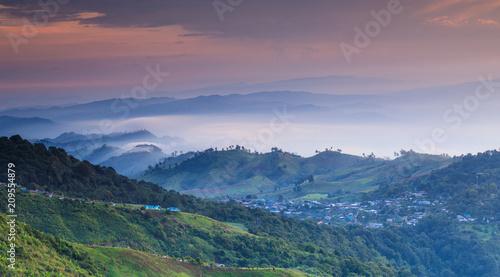 Landscape of Phu- tub-berk  Phetchabun province, Thailand.