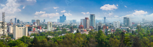 Panoramic view of Mexico city. - 209557055