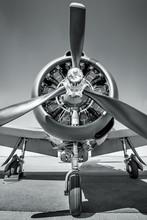 Propeller Of An Sports Plane
