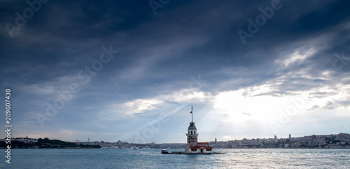 Photo  Maiden Tower of Istanbul