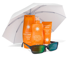 Sunscreen Products With Sungla...