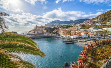 Camara de Lobos, panoramic view, Madeira island, Portugal
