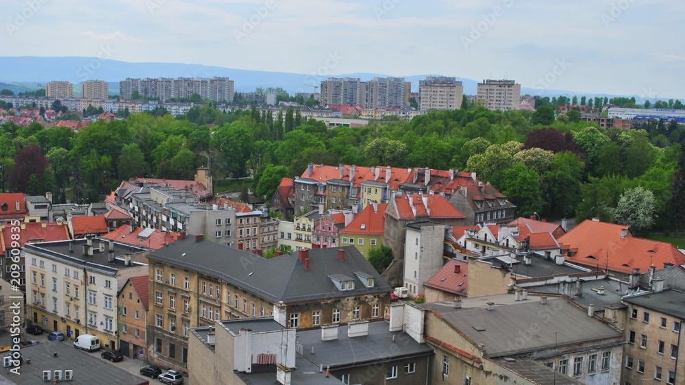 Fototapeta Kłodzko - widok na miasto