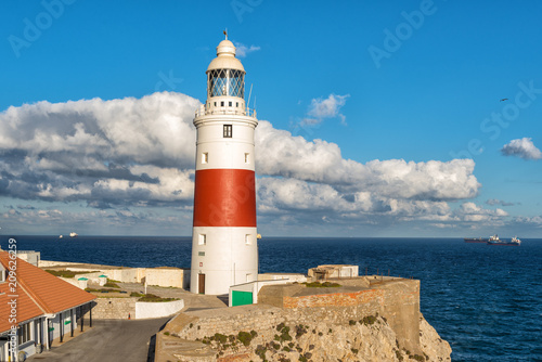 Papiers peints Phare Lighthouse at Europa point in GibraltarLighthouse at Europa point in Gibraltar