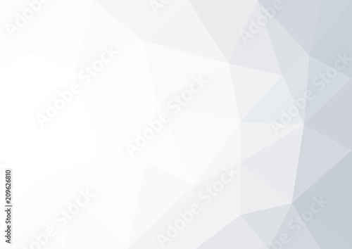 Fototapety, obrazy: Abstract white and grey geometric background