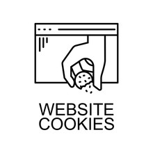 Website Cookies Icon. Element ...