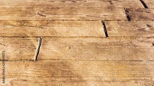 Fényképezés  modèle de béton imprimé imitation bois