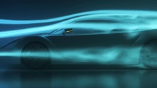 Sport Car Aerodynamics Drag Te...