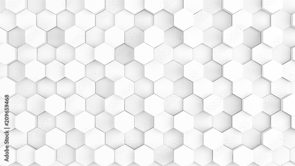 abstract geometric white texture background