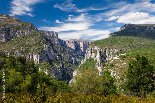 Foto op Canvas Zuid Afrika Gorges du Verdon, Rougon, Francia