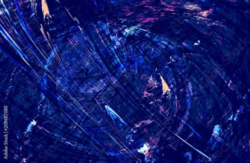 Fototapeta Abstract Blue Background obraz na płótnie