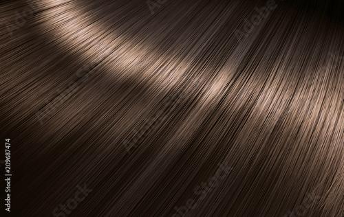 Fotografía  Shiny Brunette Hair