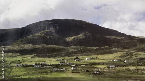 Spoed Foto op Canvas Grijze traf. Scottish Landscapes