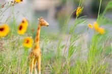 Miniature Giraffe Figurine In ...