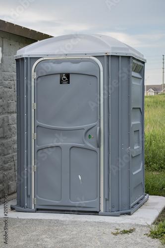 Valokuva  Portable toilet