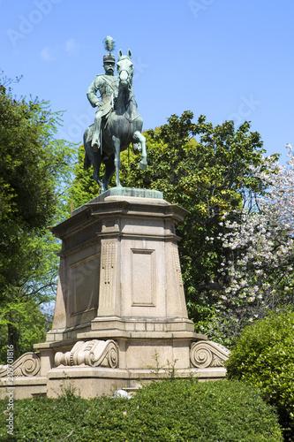 Cuadros en Lienzo Tokyo, Japan, Monument to Prince Komatsu-no mia Akihito in Ueno Park