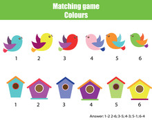 Educational Children Game. Mat...