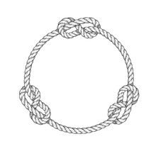 Rope Circle - Round Rope Frame...