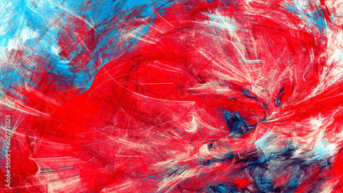 Artistic Color Motion Composition Abstract Beautiful Red